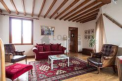双层公寓 巴黎6区 - 客厅