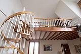 双层公寓 巴黎6区 - 卧室