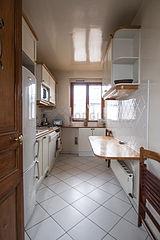 双层公寓 巴黎6区 - 厨房
