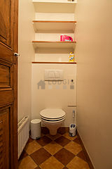 双层公寓 巴黎6区 - 厕所
