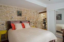 Maison individuelle Paris 4° - Chambre