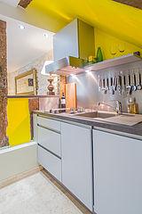 Maison individuelle Paris 4° - Cuisine