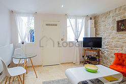 Maison individuelle Paris 4° - Séjour