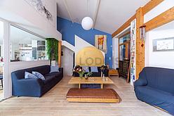 Квартира Париж 20° - Гостиная 2