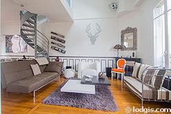 Haus Haut de seine Nord - Wohnzimmer
