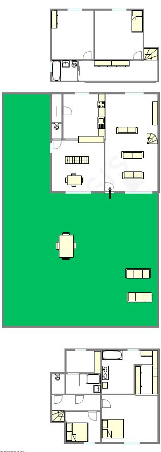 House Haut de seine Nord - 平面图