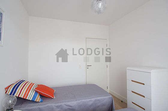 Chambre très calme pour 2 personnes équipée de 2 lit(s) de 90cm