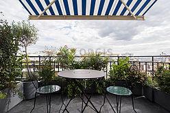 Квартира Париж 19° - Терраса