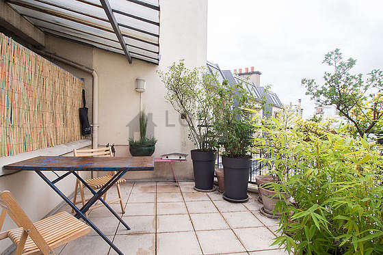 location appartement paris terrasse