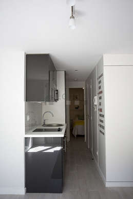 Great kitchen of 0m² with wooden floor