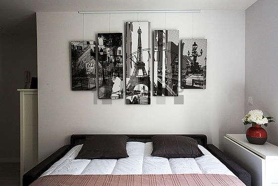 Magnifique séjour calme et très lumineux d'un appartement à Paris