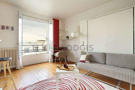Séjour très calme équipé de 1 lit(s) armoire de 140cm, téléviseur, chaine hifi, 1 fauteuil(s)
