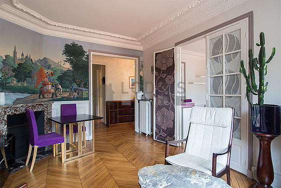 location appartement 2 chambres avec ascenseur paris 15 boulevard lefebvre meubl 66 m. Black Bedroom Furniture Sets. Home Design Ideas