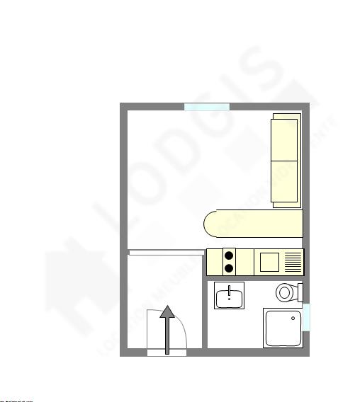 Appartamento Parigi 16° - Piantina interattiva