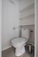 Apartment Paris 20° - Toilet
