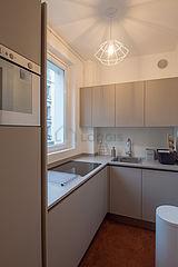 公寓 巴黎14区 - 厨房