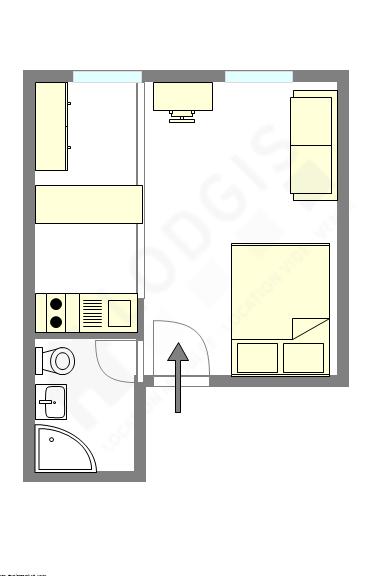 Appartamento Parigi 6° - Piantina interattiva