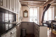 Appartement Paris 4° - Cuisine