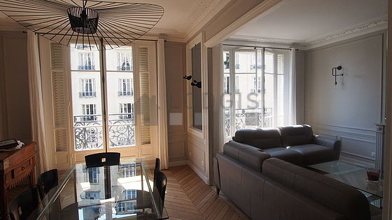 Location appartement 1 chambre avec ascenseur et concierge for Appartement meuble paris 16