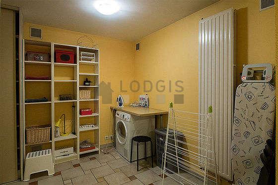 Appartement Paris 16° - Buanderie