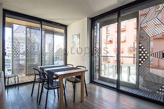Magnifique séjour très lumineux d'un appartement à Paris