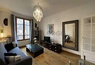 La Villette Paris 19° 2 Schlafzimmer Wohnung