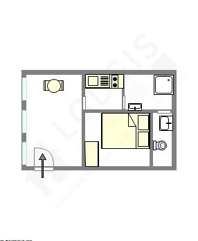 Apartamento Val de marne sud - Plano interativo