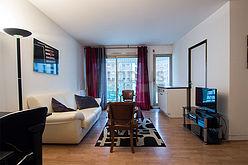アパルトマン パリ 15区 - リビングルーム