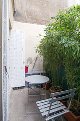 Appartement Paris 11° - Terrasse