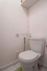 公寓 巴黎19区 - 厕所