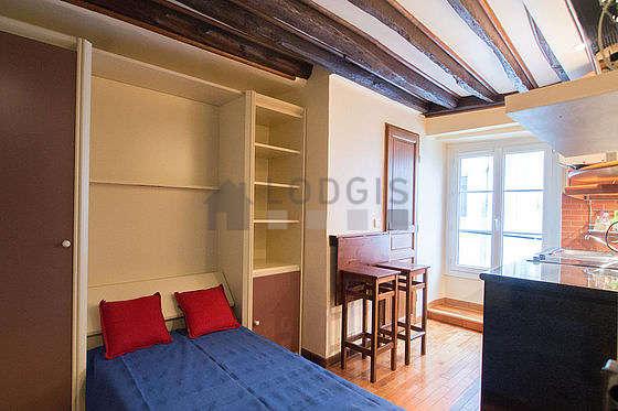 Location studio paris 7 rue malar meubl 11 m invalides for Appartement meuble paris long sejour