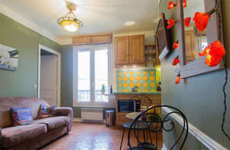 Nation Paris 11° 1 Schlafzimmer Wohnung