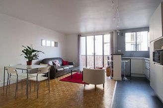 Montmartre Париж 18° 1 спальня Квартира