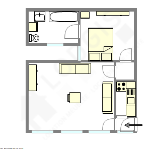 Wohnung Paris 16° - Interaktiven Plan