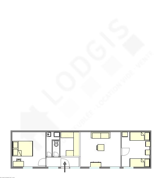 公寓 Hauts de seine Sud - 互動圖