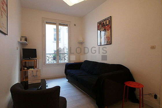 Quiet living room furnished with 1 sofabed(s) of 130cm, tv, 1 armchair(s)