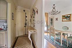 雙層公寓 巴黎8区 - 門廳