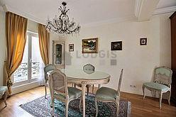 雙層公寓 巴黎8区 - 飯廳
