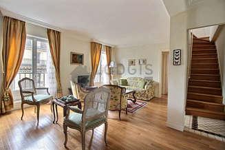 Monceau 巴黎8区 2個房間 雙層公寓
