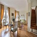 雙層公寓 巴黎8区 - 客廳