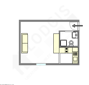 Apartment Paris 12° - Interactive plan