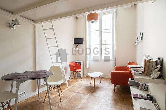 Séjour très calme équipé de chaine hifi, ventilateur, 1 fauteuil(s), 1 chaise(s)