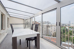 公寓 Val de marne sud - 玻璃屋陽台
