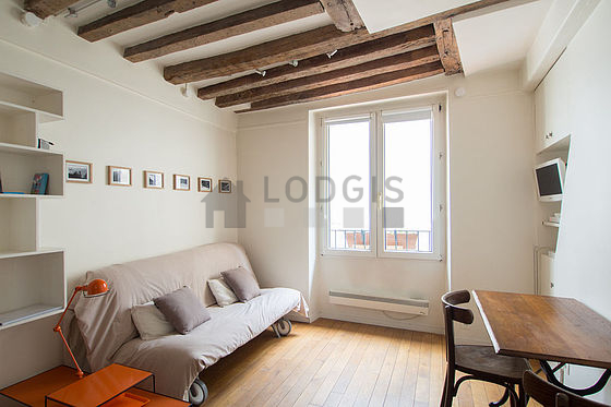 Location studio paris 2 rue de clery meubl 15 m for Location studio meuble paris 15