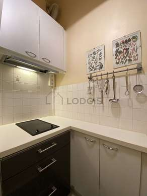 Great kitchen of 2m² with tile floor