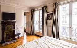 アパルトマン パリ 17区 - ベッドルーム