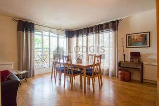 La Villette Париж 19° 2 спальни Квартира