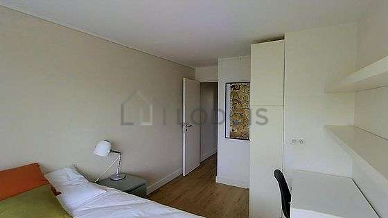 Bedroom with double-glazed windows and balcony