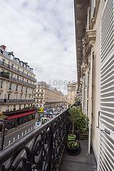 Wohnung Paris 10° - Terasse