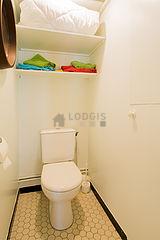 アパルトマン パリ 13区 - トイレ